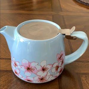 # 888New ceramic teapot with cherry blossom design